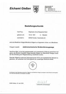 Bestellungsurkunde_Eichamt-Giessen