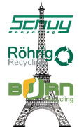 Gemeinsam mit unseren Schwesterunternehmen Roehrig-Recycling und Born-Recycling recyclen wir jeden Monat mehr als die im Eiffelturm verbaute Stahlmenge von ca. 7.300 Tonnen.