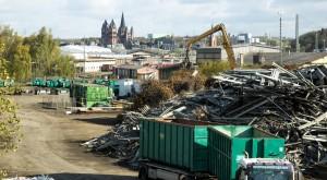 Schuy-Recycling Grundstück Limburger Dom